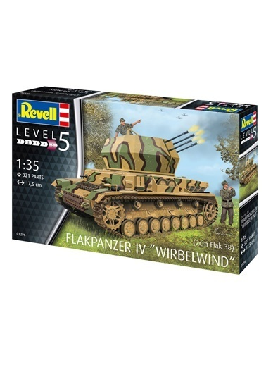 Revell  Maket Flakpanzer Iv Wirbelwind Flak 38 Vso03296 Renkli